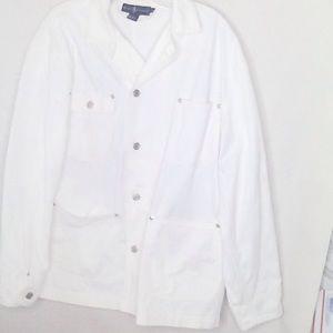 Ralph Lauren   White   Jean Jacket   Size L